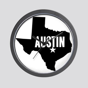 Austin, TX Wall Clock