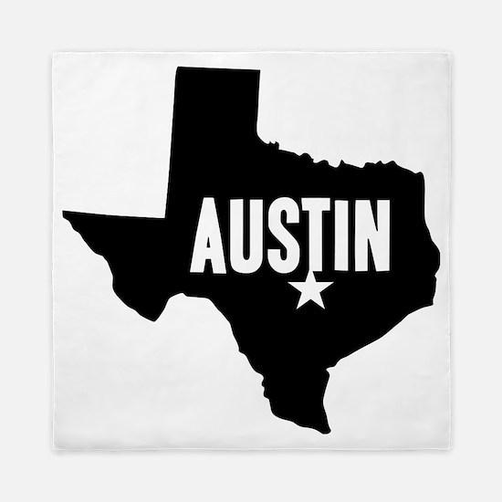 Austin, TX Queen Duvet