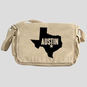 Austin, TX Messenger Bag
