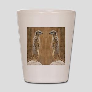 Meerkat Shot Glass