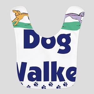 dog walker-3 Bib