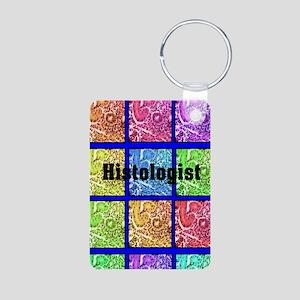 Histologist flip flops 6 Aluminum Photo Keychain