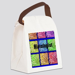 Histologist flip flops 6 Canvas Lunch Bag