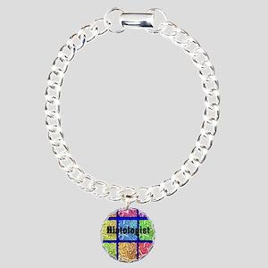 Histologist flip flops 6 Charm Bracelet, One Charm