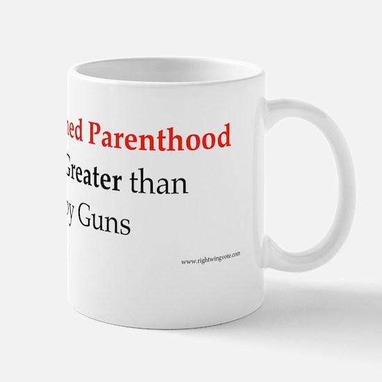 Planned Parenthood Mug