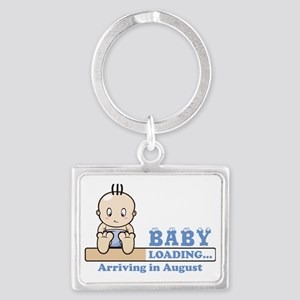Arriving in August Landscape Keychain