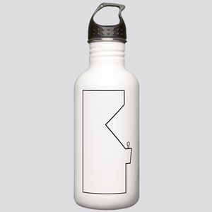 Arcade Cabinet - white Stainless Water Bottle 1.0L