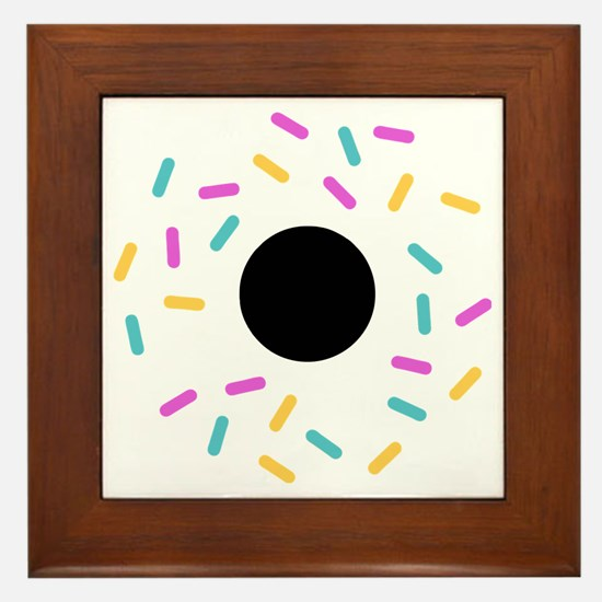 Do or donut Framed Tile