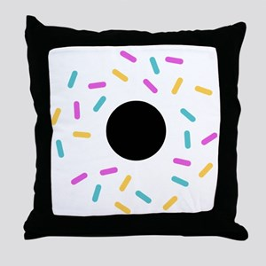 Do or donut Throw Pillow