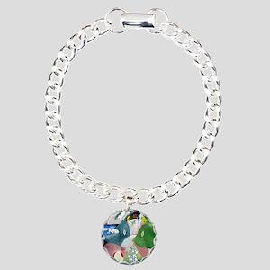 Chagalls Cats Charm Bracelet, One Charm