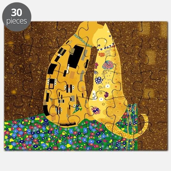 Klimts Kats Puzzle
