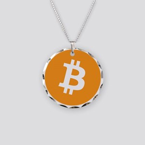 OriginalBitcoinLogo Necklace Circle Charm