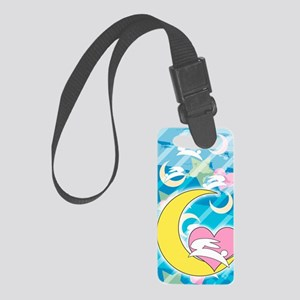 Moon Small Luggage Tag