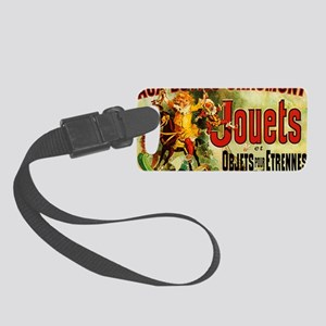 Aux Buttes Chaumont Jouets et Ob Small Luggage Tag