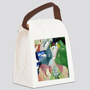 Chagalls Cats Canvas Lunch Bag