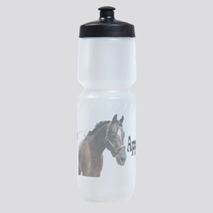 i love appaloosa sq Sports Bottle