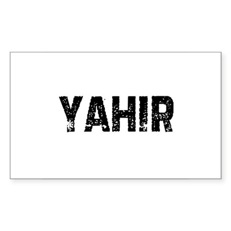 Yahir Rectangle Sticker