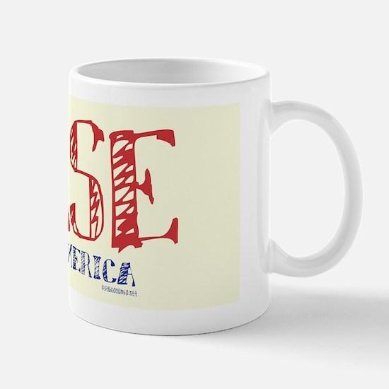 Nurse made in America Mug