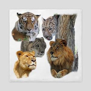 The Big Cats Queen Duvet