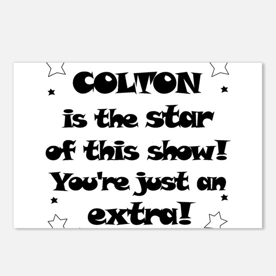 Colton is the star Postcards (Package of 8)