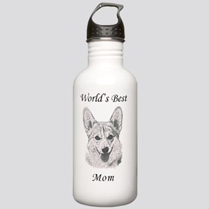 Worlds Best Corgi Mom Stainless Water Bottle 1.0L
