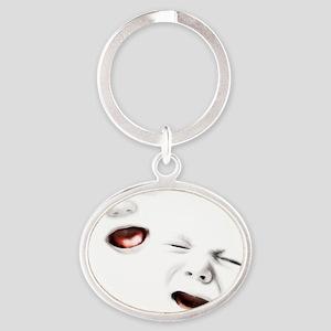 baby-janus-BUT Oval Keychain
