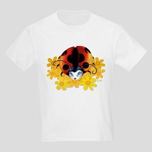 Pretty Ladybug Kids T-Shirt
