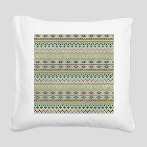 Southwestern Square Canvas Pillow