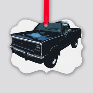Dodge Powerram Picture Ornament