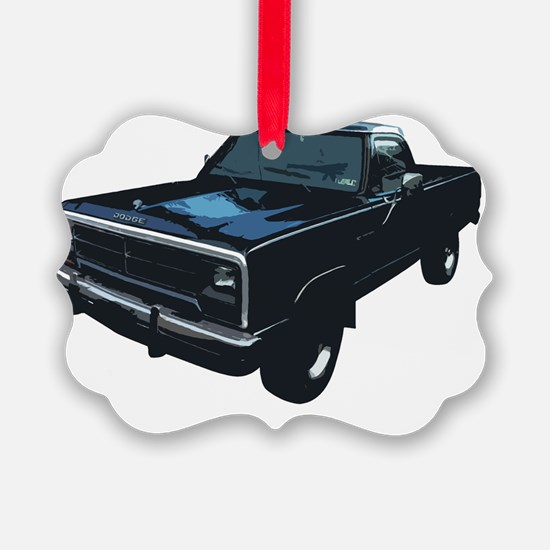 Dodge Powerram Picture Ornament