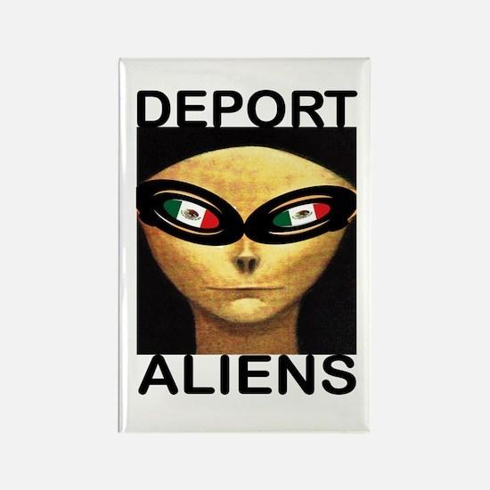 DEPORT ALIENS Magnets