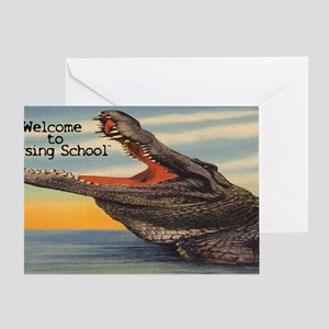 Welcome to Nursing School Greeting Card