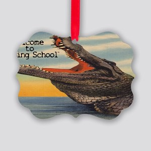 Welcome to Nursing School Picture Ornament