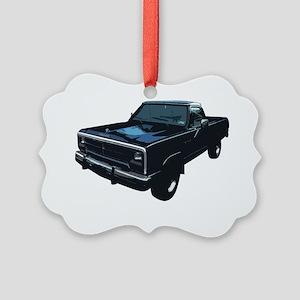 Dodge Power Ram Pickup Truck Picture Ornament