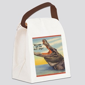 Nurse Shift Tote Bag Canvas Lunch Bag