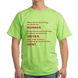 No gun control Green T-Shirt