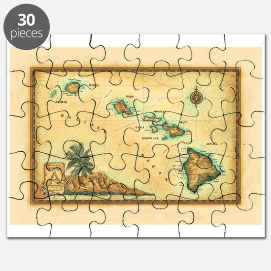 Hawaii map Puzzle
