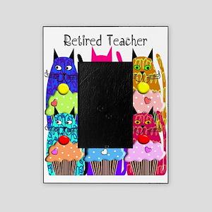 retired teacher 2 Picture Frame