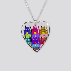 Retired Librarian Necklace Heart Charm