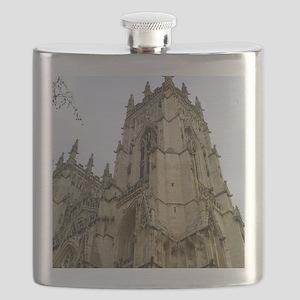 Detail Of York Minster Flask