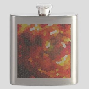 Fiery red Flask