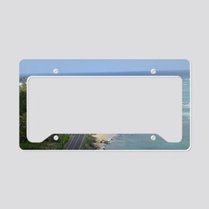 Kamehameha Highway License Plate Holder