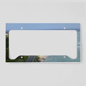 Kamehameha Highway License Plate Holder