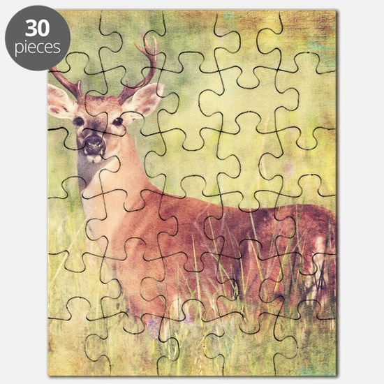 White Tailed Buck Puzzle