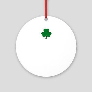 Boston Pride Round Ornament