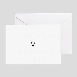 New Veterinarian Greeting Card