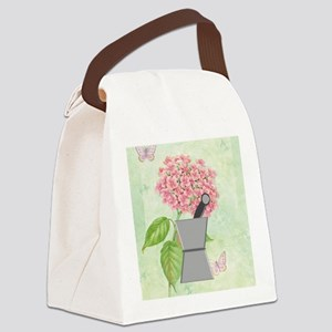 pest and mort hydrangea 2 Canvas Lunch Bag