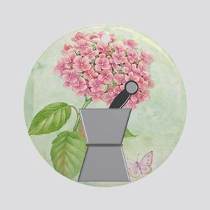 pest and mort hydrangea 2 Round Ornament