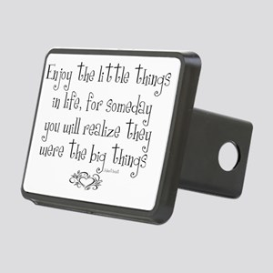 Enjoy the little things in Rectangular Hitch Cover