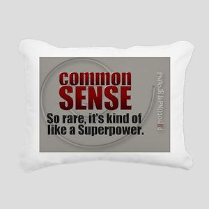 Superpower Rectangular Canvas Pillow